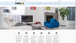 Un site Responsive pour la société Cansol