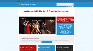 Création et lancement d'Annuairepro66.com