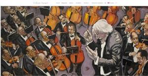 refonte du site du peintre William Fenech par catseo.fr - Agence web Perpignan
