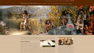 Musée de Tautavel - Site réalisé par Catseo