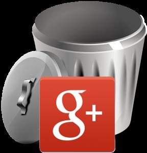 Suppression des pages Google+ non vérifiées