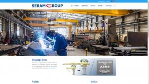 seramgroup.com, site crée par l'agence CatSeo, création de site internet Perpignan et Pyrénées Orientales