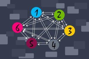 Maillage interne et externe avec des liens qualifiés