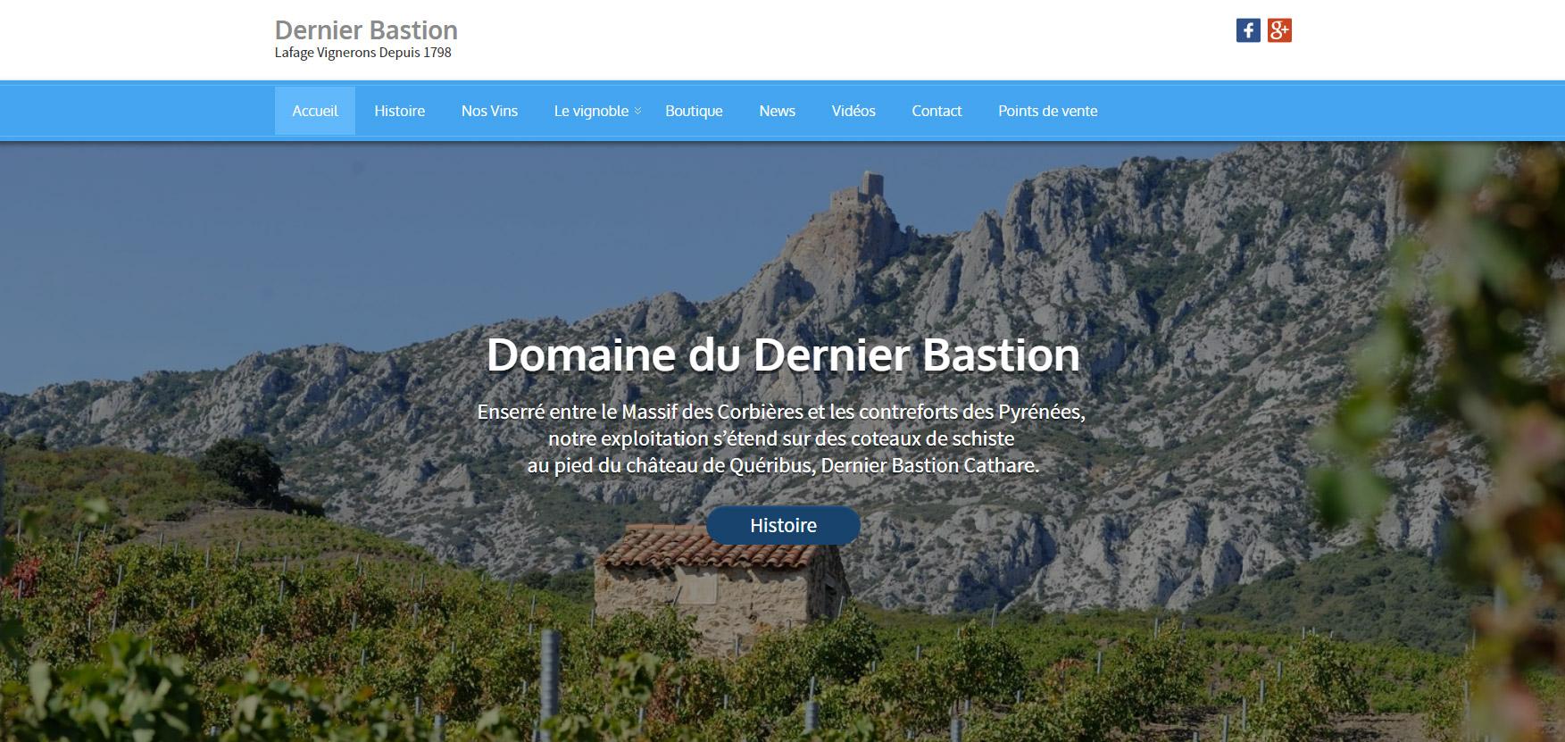 Creation Site Internet Lafage Vignerons