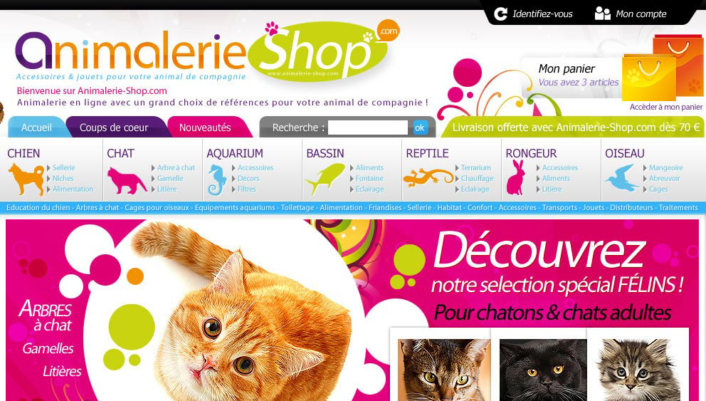 Creation Boutique En Ligne Animalerie