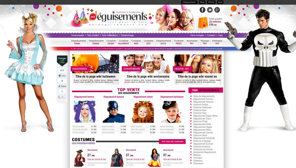 Creation site e commerce 66