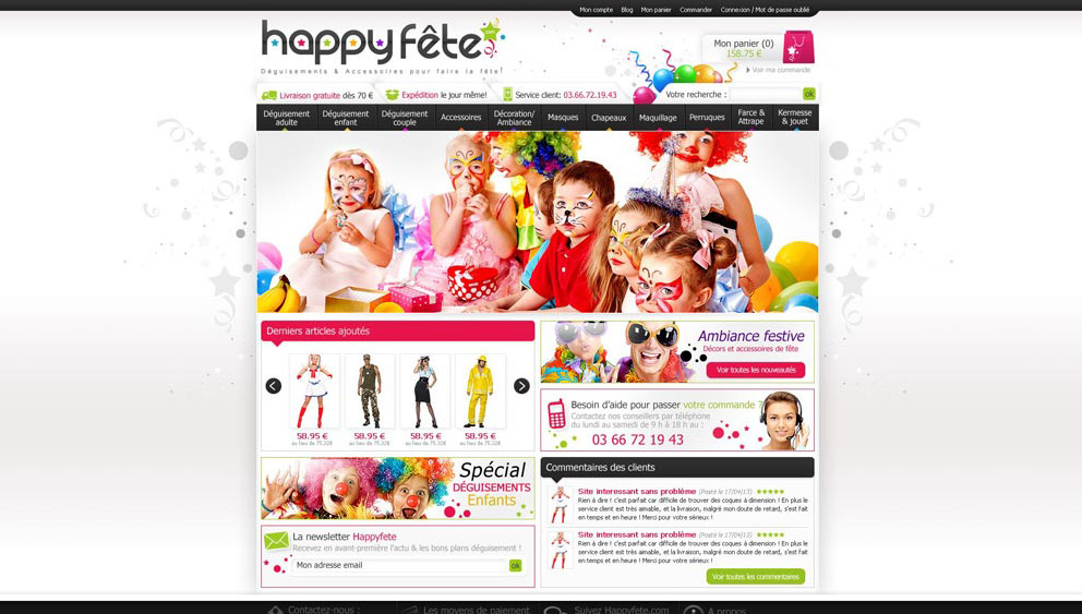 Creation site e commerce perpignan prestashop
