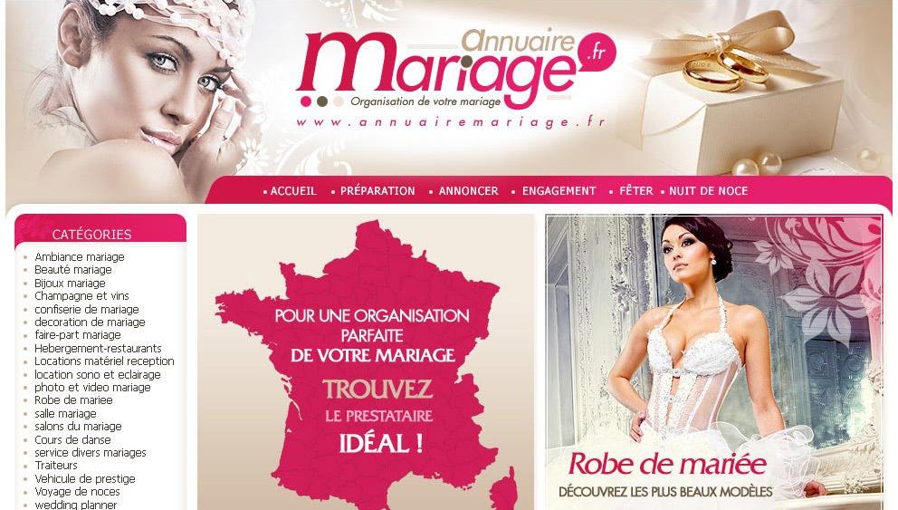 Creation Site Internet Mariage Salon Et Prestataires 66