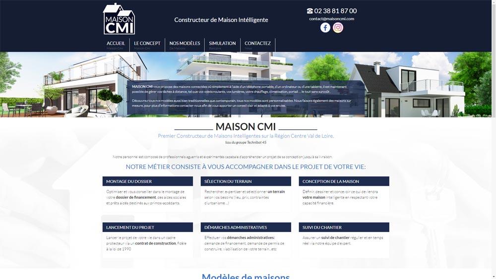 Site maison CMI à orléans (45)