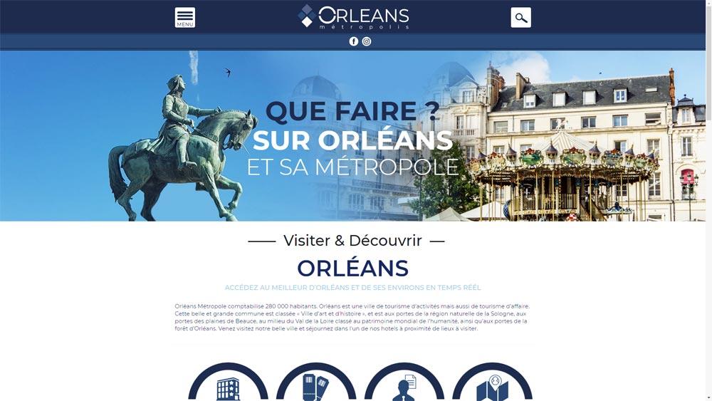 Site de tourisme Orléans