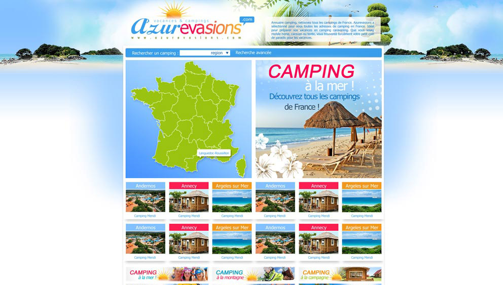 Portail camping tourisme perpignan